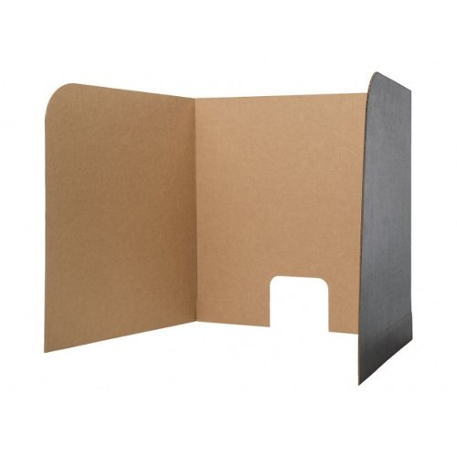 Flipside Corrugated Board Computer Lab Privacy Screens (Large) - 12pk (FS-61860) - $42.3 Image 1