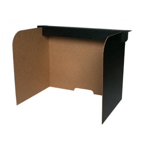 Flipside Corrugated Board Desktop Privacy Screens (Large) - 24pk (FS-61855)