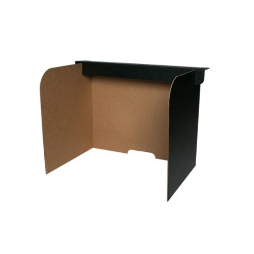 Flipside Corrugated Board Desktop Privacy Screens (Small) - 24pk (FS-61852) Image 1