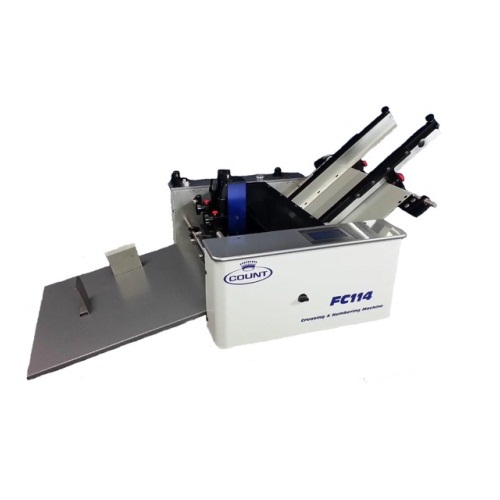 Count FC114 Friction-Fed Digital Creasing/Perforating/Numbering Machine - Open Box (R4CMFC114), Finishing Equipment Image 1