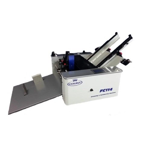 Count FC114 Friction-Fed Digital Creasing/Perforating/Numbering Machine - Open Box (R4CMFC114)