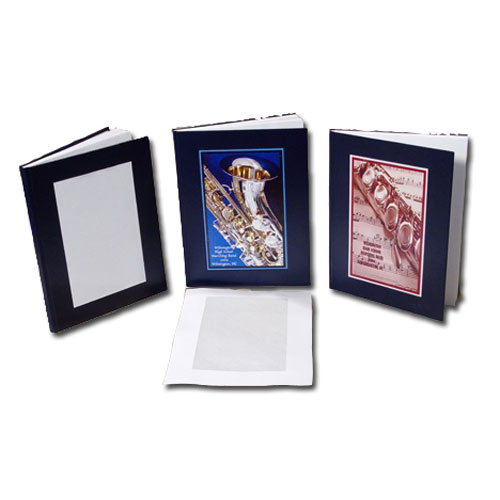 "Coverbind 1/2"" Navy Ambassador On Demand Hard Covers 8pk - 675673 (08CBHCOD12NAV) Image 1"