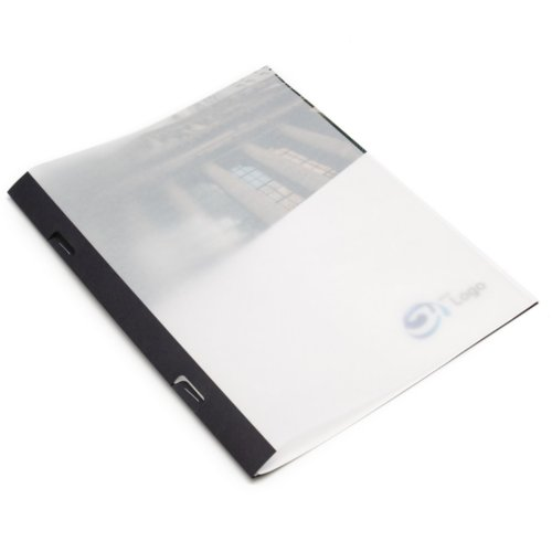 White Thermal Binding Covers Image 1