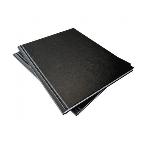 "Coverbind 1/8"" Black Standard Ambassador Hard Covers 13pk - 675800 (08CBHC18BK) - $56.41 Image 1"