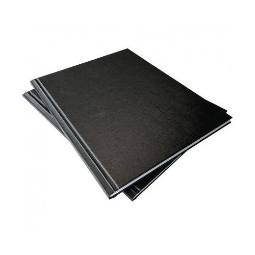 "Coverbind 1/2"" Black Standard Ambassador Hard Covers 8pk - 675803 (08CBHC12BK)"