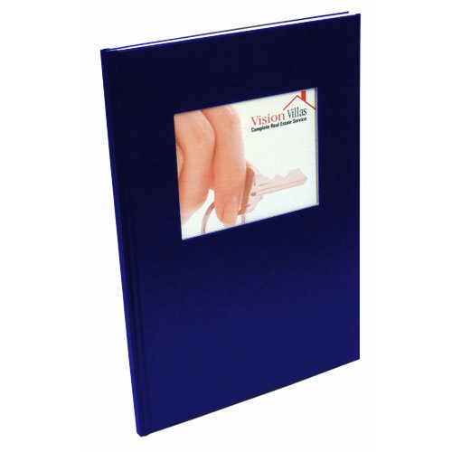 Coverbind Navy Ambassador with Window Hard Covers (CBAWHCNV) Image 1