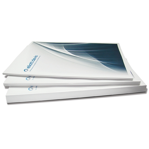 "Coverbind 3/8"" Print On Demand Thermal Covers -70pk - 675840 (08CBPOD38WG) Image 1"