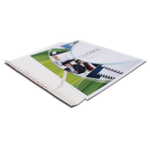 "Coverbind 3/8"" White Design On Demand 8.5"" x 11"" Thermal Covers - 20pk (08CBDODP38W) - $30 Image 1"
