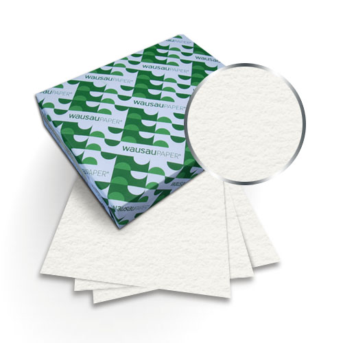 "Neenah Paper Cranes Lettra Pearl White 8.5"" x 14"" 110lb Covers - 50pk (MYCLC8.5x14PW440), Neenah Paper brand Image 1"