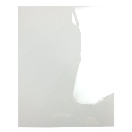 "7mil 8.5"" x 11"" High Temp Frosted Clear Covers for Fastback Binding - 50pk (TC7HT8.5X11FROST) Image 1"