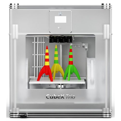 Cubify CubeX Trio 3D Printer (3DS-401385) - $3999 Image 1