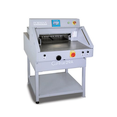 "Formax Cut-True 29A 20.5"" Electric Programmable Guillotine Cutter (CutTrue 29A) Image 1"