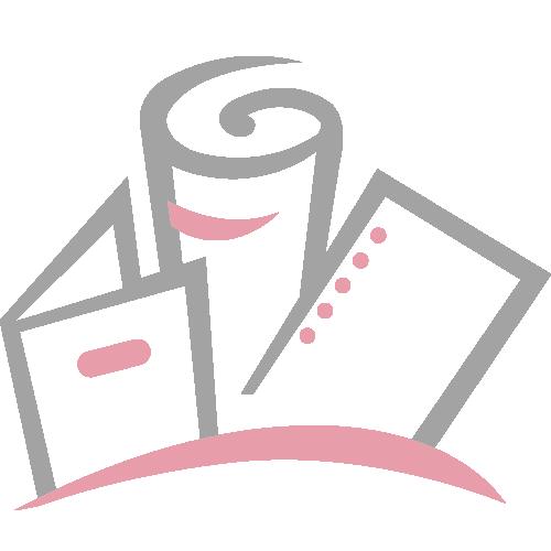 Red Linen Customizable Letter Size Pocket Folders - 250pk Image 2