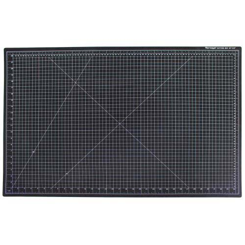 "Dahle 24"" x 36"" Vantage Black Self-Healing Cutting Mat (10673) Image 1"