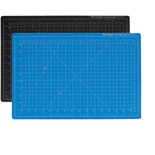 "Dahle 36"" x 48"" Vantage Blue Self-Healing Cutting Mat (10694) Image 1"