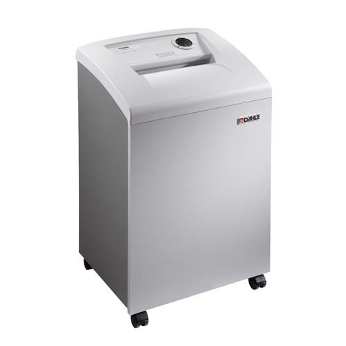 Dahle 40330 Small Office Level P-6 Cross Cut Paper Shredder with FREE Oil (DA40330)