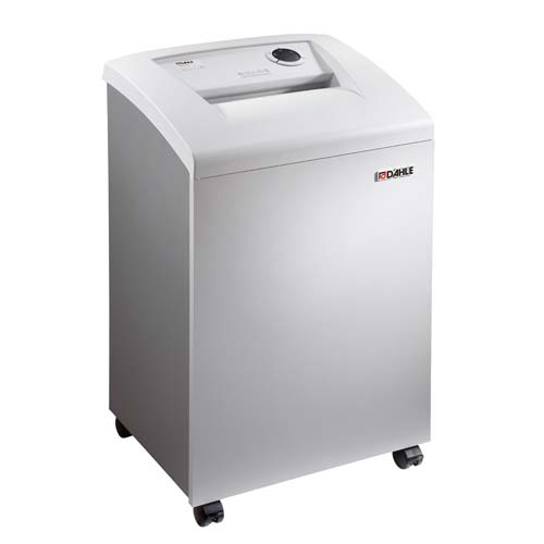 Dahle 40430 Office Level P-6 Cross Cut Paper Shredder with FREE Oil (DA40430) Image 1