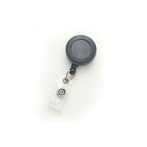 Round Retractable Badge Reel Image 1