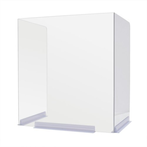 Classroom Bent Edge Desktop Protective Barrier