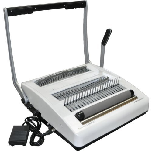 DFG Coil and Comb 2-in-1 Punching and Binding Machine (CoilComb21), Binding Machines Image 1