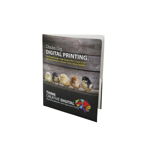 "11"" x 8.5"" Digitally Printed Poly Two-Pocket Folders (15 Gauge) (MYDPTPF) Image 1"