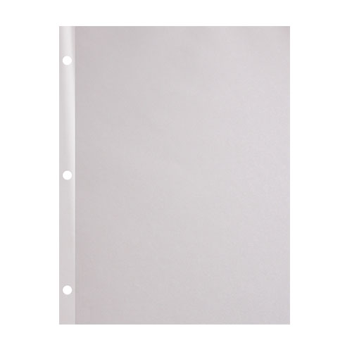 "20lb 8.5"" x 11"" 3-Hole Punched Reinforced Edge Paper - 2500 Sheets (20RE38511MYB) Image 1"