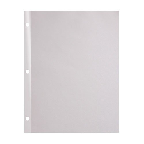 "24lb 8.5"" x 11"" 3-Hole Punched Reinforced Edge Paper - 2500 Sheets (24RE38511MYB) Image 1"