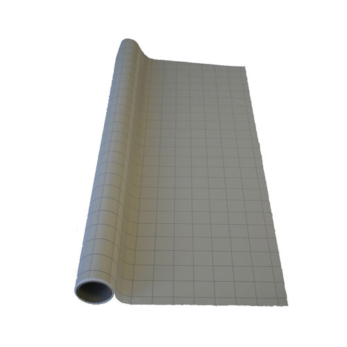 Drytac Standard Grid Static Cling Film With Dispenser -25 Sheets (SCG24031-25-DB) Image 1