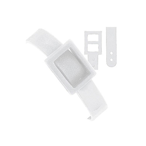 Plastic Dual Post Luggage Strap Image 1