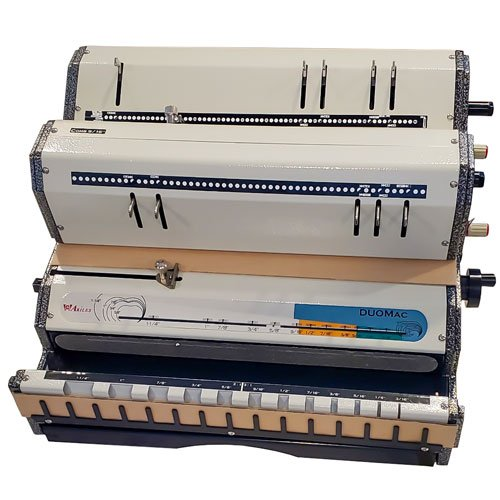 Akiles DuoMac 541 5:1 and 4:1 Pitch SpiralCoil Binding Machine (AKDUOMAC541) Image 1