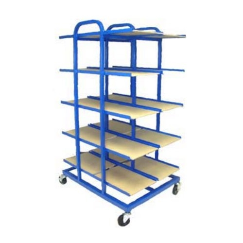 "Duplicator Truck 20-Tray 12"" x 18"" Paper Stock Drying/Storage Rack (DT-20), Brands Image 1"