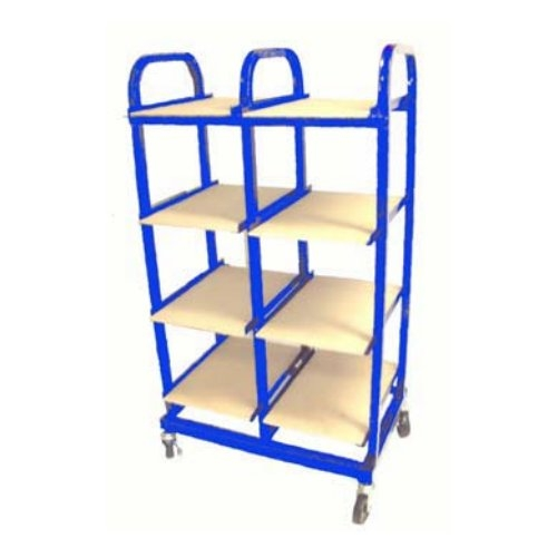 "Duplicator Truck 8-Tray 12"" x 18"" Paper Stock Drying/Storage Rack (DT-8), Brands Image 1"