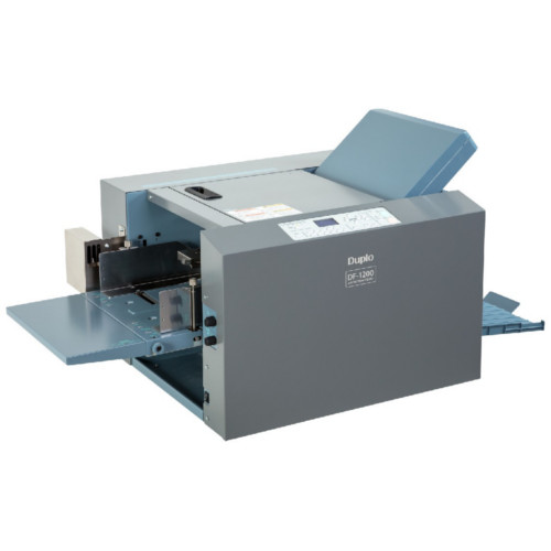 Duplo Air Suction Paper Folder with Double Feed Detection (DF-1200) Image 1