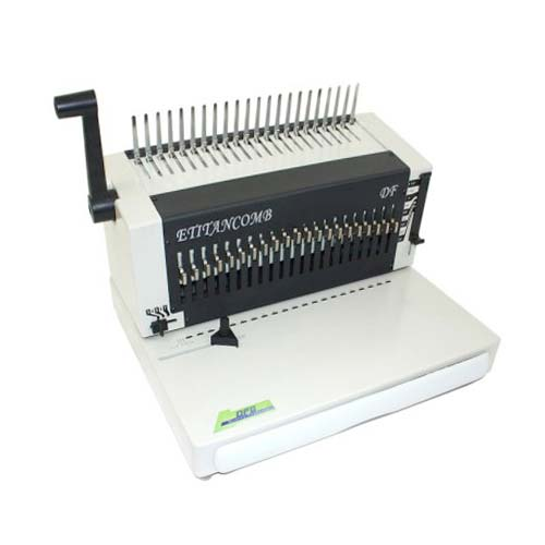 DFG E Titan Comb Heavy Duty Electric Comb Binding Machine - Open Box (MYR-3372) Image 1