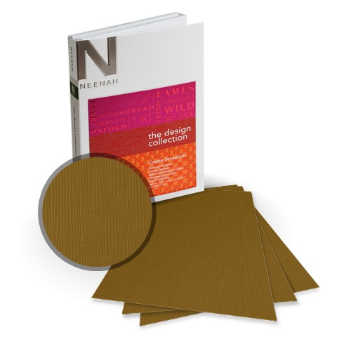 "Neenah Paper 5.5"" x 8.5"" Eames Canvas Card Stocks - 18 Sheets (Half Size) (NEPCC5.5x8.5)"