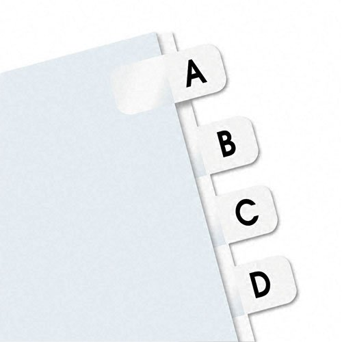 Redi-Tag A-Z tab Self-Stick Side-Mount Plastic Tabs (RTG-31005) Image 1