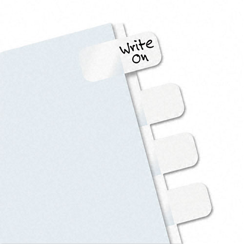 Redi-Tag Write-On Self-Stick Side-Mount Plastic Tabs-104pk (RTG-31000) Image 1