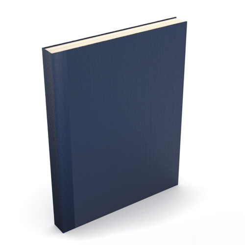 Dark Blue Powis Parker / Fastback Binding Covers Image 1