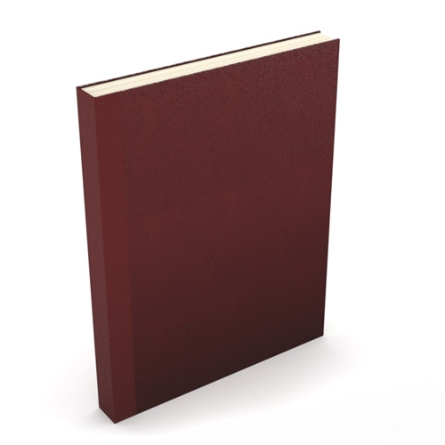 "Powis Parker Fastback Easyback 8.5"" x 11"" Maroon Composition Hardcovers - 50 Pieces (EBCHM8511)"
