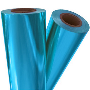 Electric Blue Metallic Laminating / Toner Fusing Foil (MYBLU-70) - $28.82 Image 1