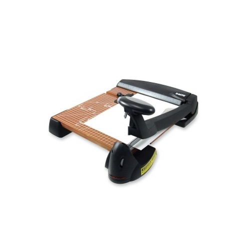"X-Acto 12"" Wood Base Laser Guide Guillotine Paper Cutter (EPI26642) Image 1"