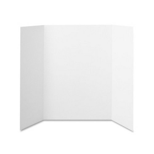 "Elmer's 36"" x 48"" Tri-Fold Project Display Board (2 Ply) (EPI730205) Image 1"