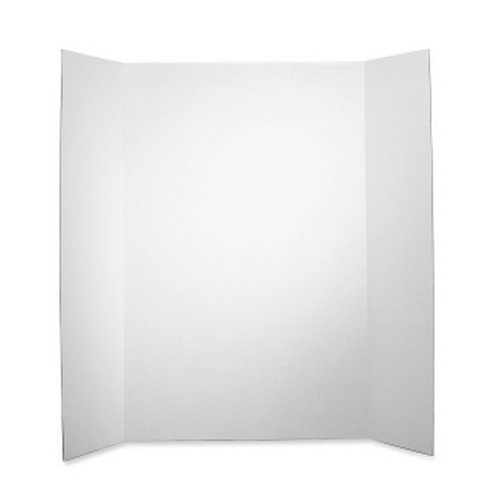 "Elmer's 36"" x 48"" Single Ply Tri-Fold Display Board - 25pk (EPI730300) Image 1"