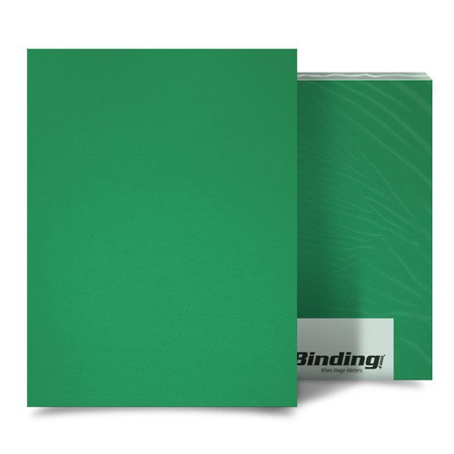 Emerald 35mil Sand Poly A3 Size Binding Covers - 25pk (MYMP35A3EM), MyBinding brand Image 1