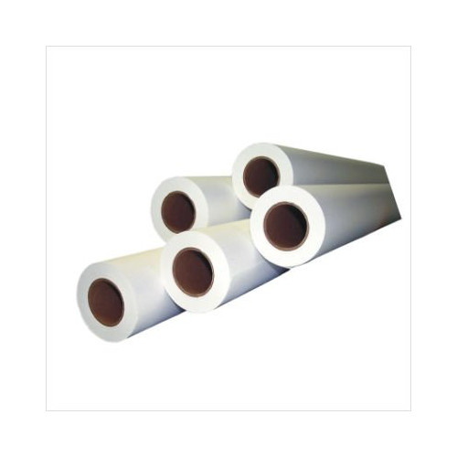 "Performance Office Papers 20lb 24"" x 500' Bond Engineering Roll With 3"" Black Core (45 Rolls) (POPE24599) Image 1"