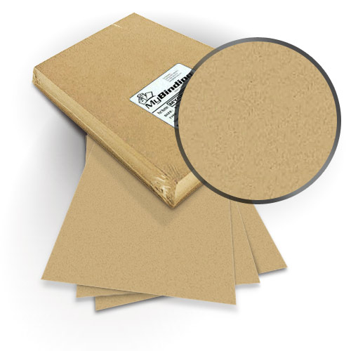 "Neenah Paper ENVIRONMENT Desert Storm 9"" x 11"" Covers with Windows - 100 Sets (MYNE9X11DSW) Image 1"