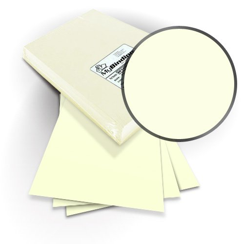 "Neenah Paper ENVIRONMENT Natural 9"" x 11"" Covers with Windows - 100 Sets (MYNE9X11NAW) Image 1"