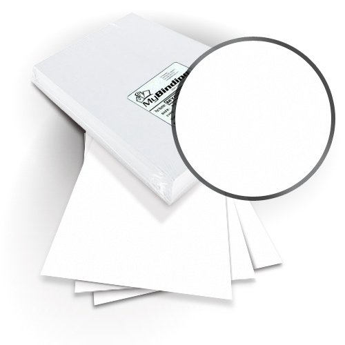 "Neenah Paper ENVIRONMENT White 9"" x 11"" Covers with Windows - 100 Sets (MYNE9X11WHW) Image 1"