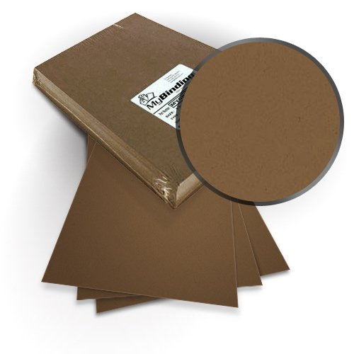 "Neenah Paper ENVIRONMENT Grocer Kraft Paper 8.75"" x 11.25"" Covers with Windows - 100 Sets (MYNE8.75X11.25GKPW), Neenah Paper brand Image 1"