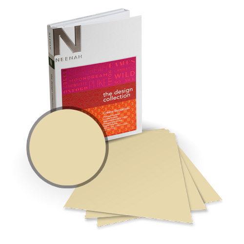 "Neenah Paper Esse Smooth Pearlized Cocoa 5.5"" x 8.5"" 105lb Card Stock - 18 Sheets (NESSCPC420-C) Image 1"